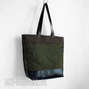 pojemna torba na ramię solidna i wodoodporna - model nie