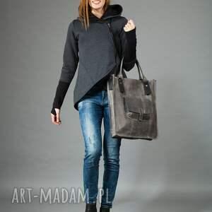 trendy na ramię torebka na torba skórzana, do ręki