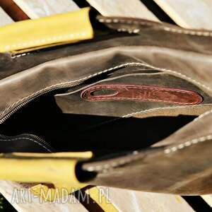 NavahoClothing Torba skórzana - na ramię torebka