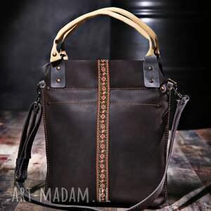 atrakcyjne na ramię torebki torba skórzana ręcznie robiona