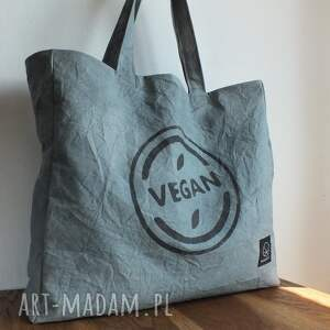 hand made na ramię torba na slow vegan