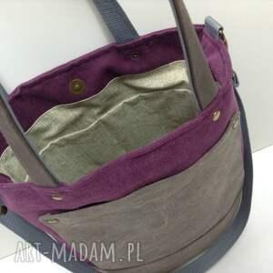 beżowe na ramię torebka torba