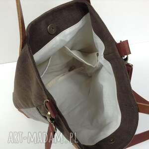 brązowe torebka torba na ramię, listonoszka