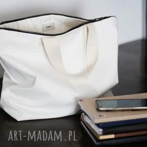na ramię torebka torba white