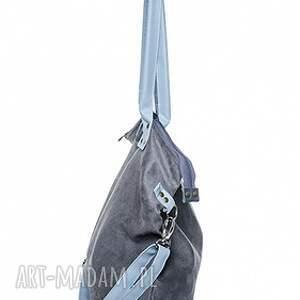 worek torba mysza light blue