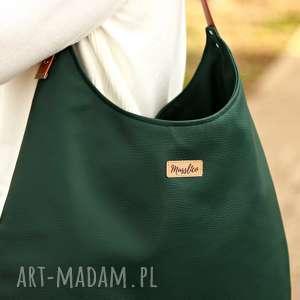 pomarańczowe na ramię torba worek zielen z miodem
