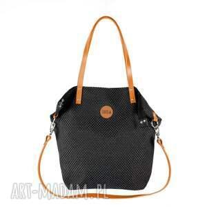 fbfbf43d62f23 ręcznie wykonane na ramię torba worek plecionka simple czarna