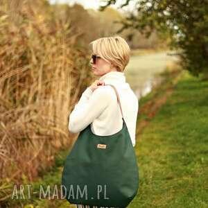 torba na ramie na ramię worek zielen z miodem