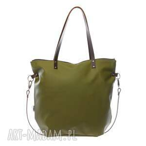 unikalne na ramię torba worek waterproof dark olive