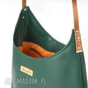 efektowne na ramię torba na ramie worek zielen z miodem