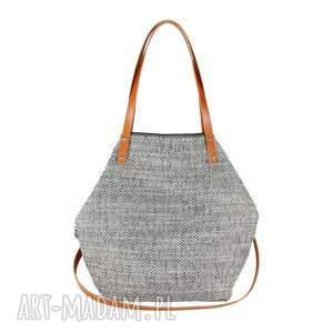 szare na ramię torebka torba worek grey #carmel
