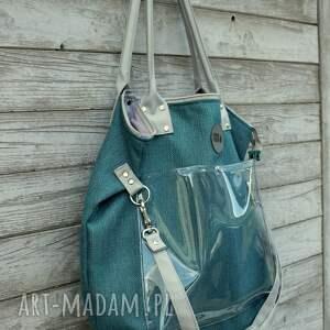 turkusowe na ramię worek torba rasp marine