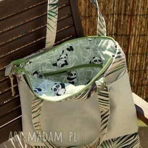 torba na ramię zielone na