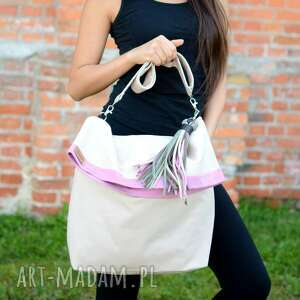 Ekoszale na ramię: torebka damska