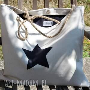 intrygujące na ramię torebka podłużna torba wykonana z grubej bawełny