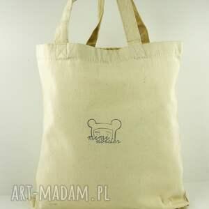 na ramię prezent torba zielnik - płócienna