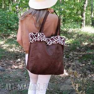 minky na ramię torba żyrafa