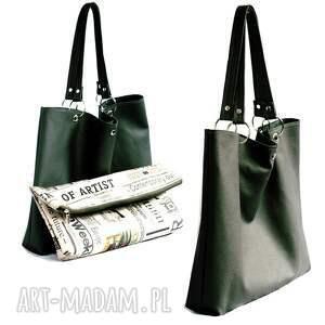 na ramię torba torbiszcze zielone z wkładem