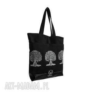 unikalne na ramię kobieta torebka bodhi tree canvas