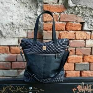 wyraziste na ramię pikowana torebka catoo premium #02