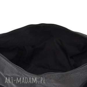 na ramię markowe-torebki 05-0001 torebka czarna