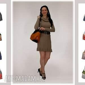 markowe-torebki na ramię 05-0001 torebka czarna