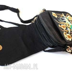 haftowana na ramię torebka damska etniczna