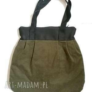 na ramię torebka damska retro zielen zgniła