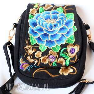 na ramię torebka damska haftowana etniczna