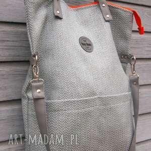 30d4fff471ec9 handmade na ramię mana-mana torebka damska cube miętowa