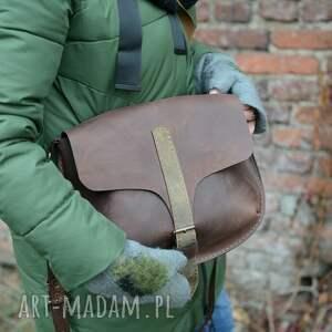eleganckie skórzana torebka damska ręcznie