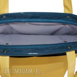wodoodporna na ramię torebka damska cube w kolorze