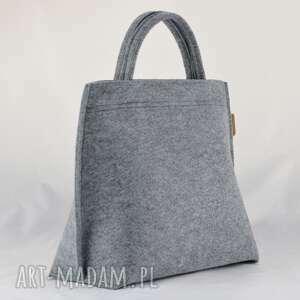 hand made na ramię filcowy torebka do ręki i na długi pasek