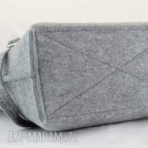 filcowy na ramię torebka do ręki i na długi pasek