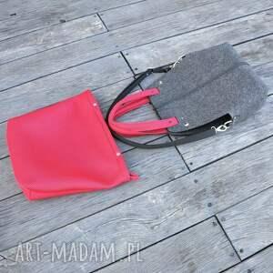 filcowa na ramię torebka wąska - organizer