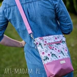 różowe na ramię torebka listonoszka wodoodporna