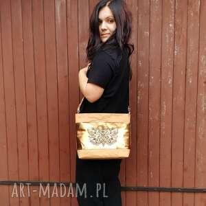 handmade na ramię torebka listonoszka z washable