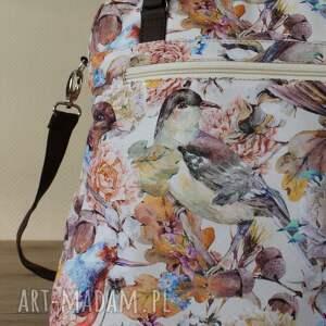 pomysł na świąteczne prezenty prezent torebka listonoszka - ptaszki