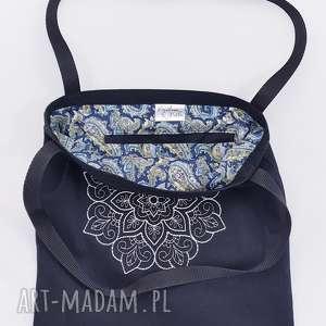 handmade na ramię mandala torebka