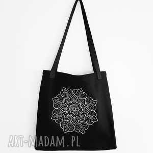 handmade na ramię siatka torebka mandala