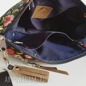 na ramię torebka mini plus pocket łowicki
