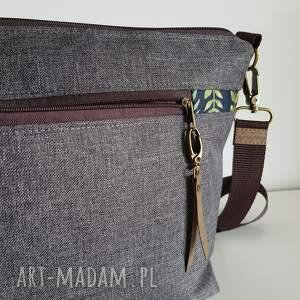 torebka mini plus pocket zielnik botaniczny & frędzel washpapa - od ręki wiosna