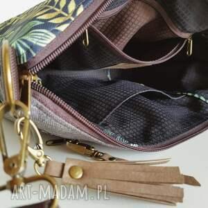 torebka mini plus pocket zielnik botaniczny & frędzel washpapa - od ręki wodoodporna