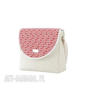 różowe na ramię torebka puro 1128 belarusian red