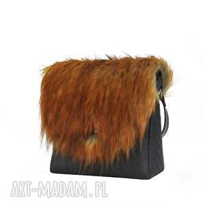 Farbotka na ramię: Torebka puro classic 1281 fur 6 - Hand Made