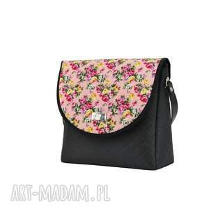 atrakcyjne na ramię puro torebka 1725 pink flowers