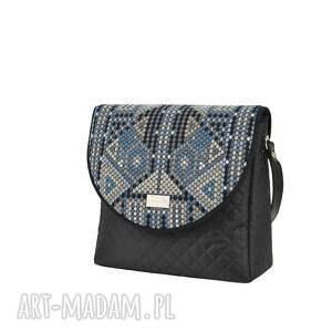 na ramię puro torebka 1509 aztec blue