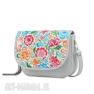 handmade na ramię ręcznie-szyta torebka puro view 2076 colored