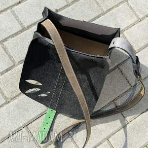 torebka na ramię zielone na mała