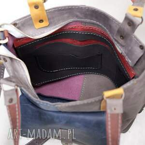 torebka na ramię na skórzana ręcznie robiona